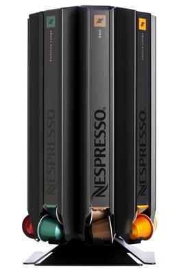 Döring CoffeeTower Box N80 Schwarz (matt) für Nespresso