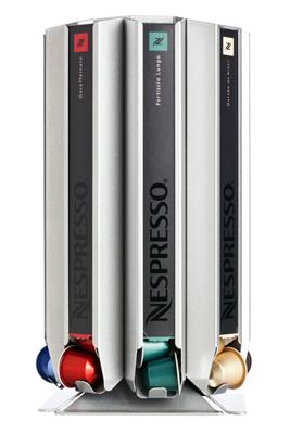 Döring CoffeeTower Box N80 Silber für Nespresso