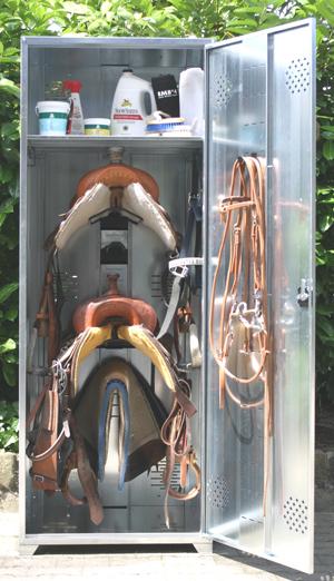 Metallschrank Universal, Western Sattelschrank 200x75x75 (HxBxT ...